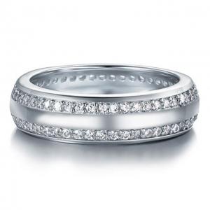 Inel Barbati Borealy Argint 925 Created Diamond Verigheta Marimea 9