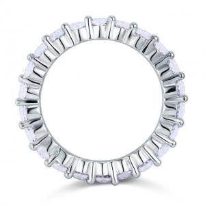 Inel Borealy Argint 925 Eternity Round Cut Mărimea 72
