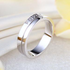 """Inel Borealy Aur Alb 14 K Natural Diamond Men's Style """"Forever""""5"""