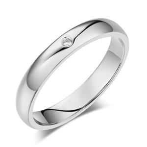 Inel Borealy Aur Alb 14 K Natural Diamond Women's Style Wedding