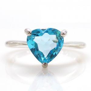Inel Blue Dream Topaz Natural 2,05 carate0