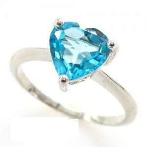 Inel Blue Dream Topaz Natural 2,05 carate5