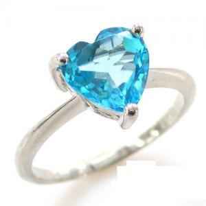 Inel Blue Dream Topaz Natural 2,05 carate1