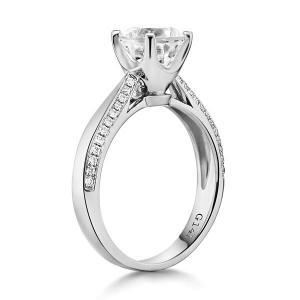 Inel Borealy Aur Alb 14 K Topaz 1,5 Ct Wedding Engagement Ring3
