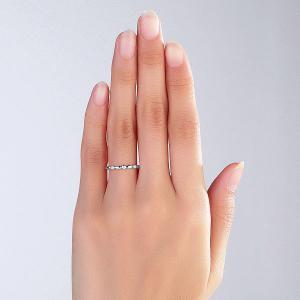 Inel Borealy Aur Alb 14 K Wedding Natural Diamonds String5