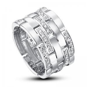 Inel Borealy Argint 925 Simulated Diamonds Brilliance Marimea 5,5
