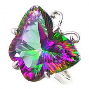 Inel Butterfly Mystic Topaz Marimea 60