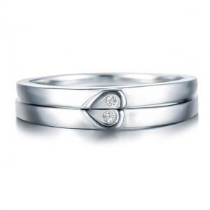 Inel Borealy Argint 925 Doble Heart Marimea 60