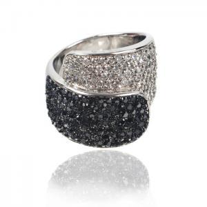Inel Black Colours Crystal Glow Marimea 60