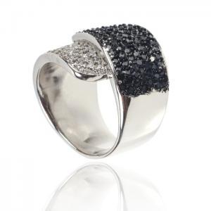 Inel Black Colours Crystal Glow Marimea 63