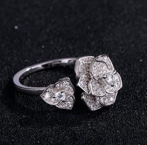 Inel Borealy Argint 925 Luxury En Rose2