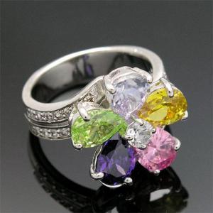 Inel Colours Flower Topaz3
