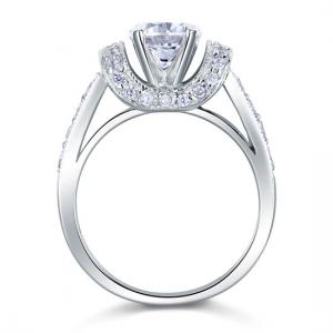 Inel Borealy Argint 925 Simulated Diamond Glamour Wedding Mărimea 74