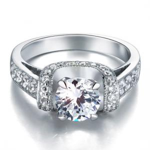 Inel Borealy Argint 925 Simulated Diamond Glamour Wedding Mărimea 75