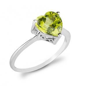 Inel Green Dream Peridot Natural 1,81 carate0