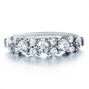 Inel Borealy Argint 925 Created Diamond 2.5 Carate Logodna Luxury Marimea 80