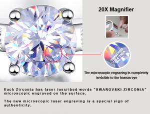 Inel Borealy Argint 925 Simulated Diamond Logodna Princess Marimea 73