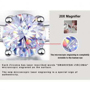 Inel Borealy Argint 925 Simulated Diamond Logodna Princess Marimea 63