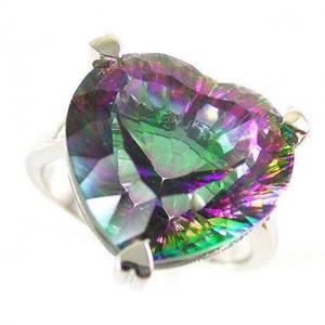 Inel Love Mistic Topaz 2,30 carate Argint 925 Marimea 71