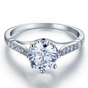 Inel Love Wedding Simulated Diamond Argint 925 Mărimea 62
