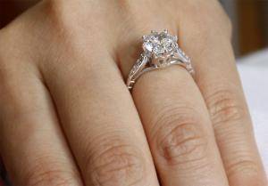 Inel Love Wedding Simulated Diamond Argint 925 Mărimea 61