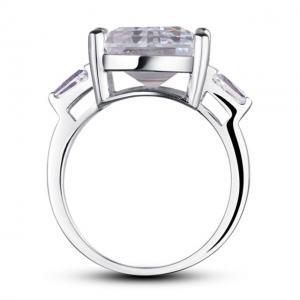 Inel Borealy Argint 925 Simulated Diamonds 4 carate Marquise Pear Marimea 72