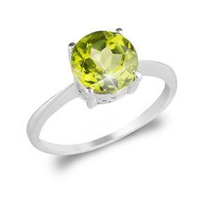 Inel Peridot Natural 1,85 carate0