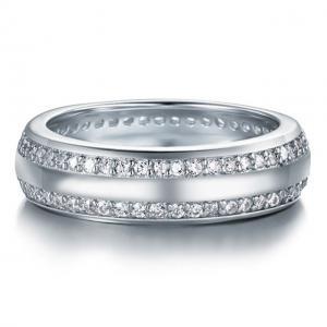 Inel Borealy Argint 925 Created Diamond Verigheta Marimea 60