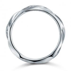 Inel Borealy Argint 925 Created Diamond Unique Marimea 61