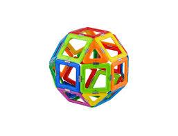 Joc Magnetic Educativ de Constructie 3D Magic Ball Set - Magspace 26 Piese [0]