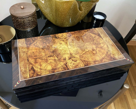 Joc Table - Old Map Edition, calitate premium [3]