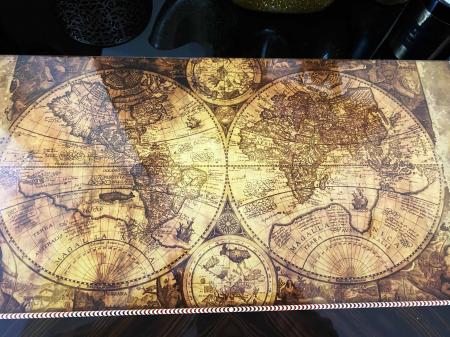 Joc Table - Old Map Edition, calitate premium [4]