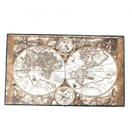 Joc Table - Old Map Edition Leather, calitate premium [0]