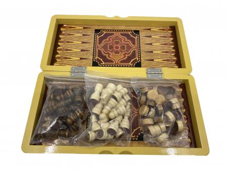 Joc Table si Sah - Wooden Box [2]