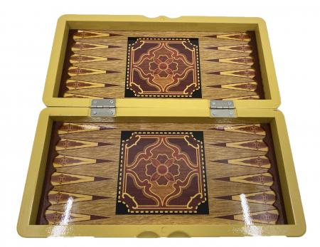 Joc Table si Sah - Wooden Box [1]
