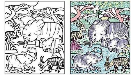 Jungle Magic Painting Book [4]