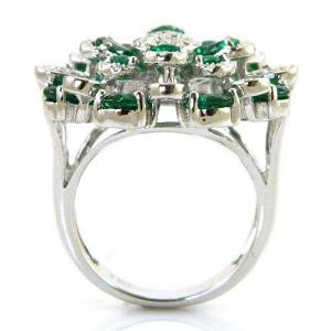 Inel Emerald Luxury by Borealy Argint 9253