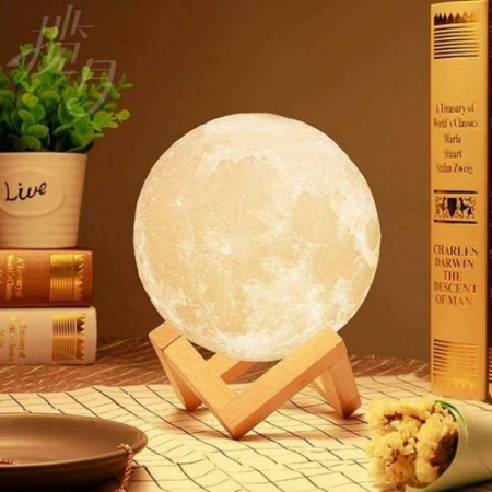 Lampa Luna 3D Moon by Borealy Desk6