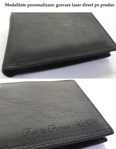 Set Leather Wallet Bank Note Brown S.T. Dupont si Note Pad Burgundy Hugo Boss3