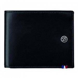 Set Leather Wallet Bank Note Black S.T. Dupont si Note Pad Black Hugo Boss2