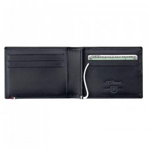 Set Leather Wallet Bank Note Black S.T. Dupont si Note Pad Black Hugo Boss3