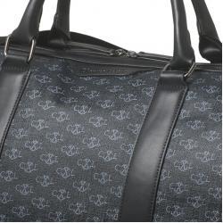 Luxury Travel Bag Christian Lacroix si Curea piele naturala - personalizabil2