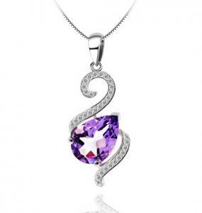 Luxury Ametist 3,15 carate Colier Argint 925 [0]