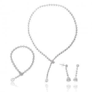 Luxury Hypnotic Set Medalion, Cercei, Brăţară0