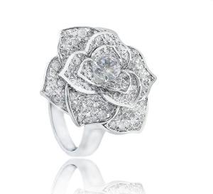 Luxury Rosa Set Cercei Borealy Colier Si Inel3