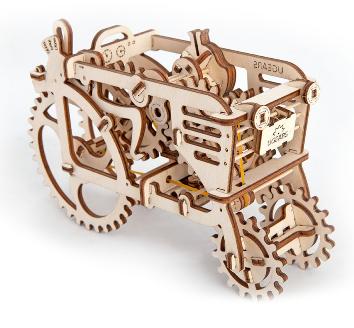 Tractor Vintage Collection Puzzle 3D Mecanic
