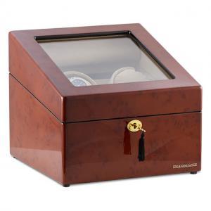 Watch Winder München Brown 2 by Designhütte - Made in Germany - personalizabil