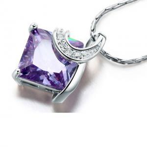 Colier Borealy Purple Sapphire Princess2