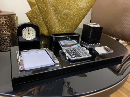 Office Business Desk Black Premium [4]