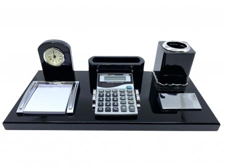Office Business Desk Black Premium [0]